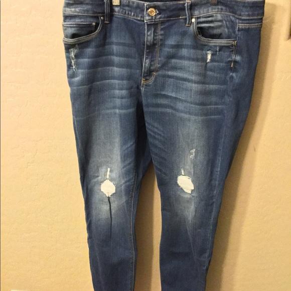 White House Black Market Denim - White House/ Black Market size 14 skinny jeans